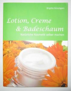 Kosmetikbuch Lotion Creme und Badeschaum