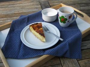 Kaffee und Käsekuchen