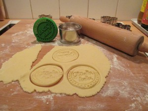 Glückskekse und Keksstempel -1