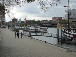 Städtereise mit Kindern - Bremen Hafenrundfahrt