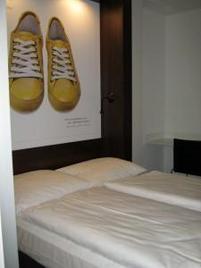 Städtereise mit Kindern - Bremen Familienzimmer Hotel 7Things