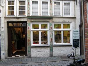 Städtereise mit Kindern - Bremen Schnoorviertel Chocolaterie