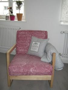 IKEA Lillberg Sessel mit neuem Bezug