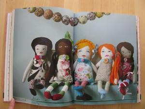 Buch Mädelsabend planen - Inhalt Rezepte für Leckereien Backen herzhaft Cocktails - Thema Puppen nähen