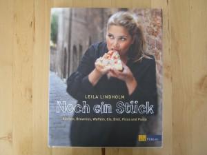 Leila Lindholm - Noch ein Stück - Buch mit Kuchen Brownies Waffeln Eis Brot Pizza Pasta