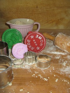 Plätzchen backen - Keksstempel - IB Laursen Schüssel