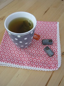 Samstagskaffee - Energie-Tee mit Ingwer und Zitrone