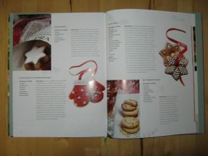 Buch - Wohnen+Garten Feste+Gäste - Winter - Lebkuchen - Handschuh-Plätzchen - Zimtsterne - Butterplätzchen