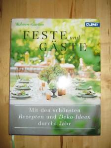 Buch - Wohnen+Garten Feste+Gäste
