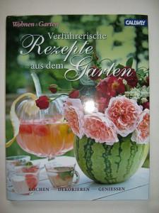 Buch - Wohnen+Garten - Verführerische Rezepte aus dem Garten