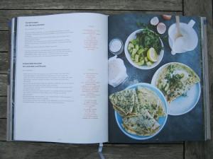 Buch - Barbara Bonisolli - Barbara kocht - Rezepte - Gurkensuppe - Kräuterpfannkuchen