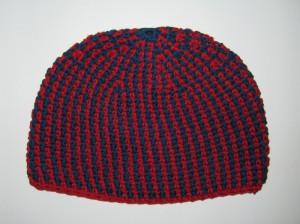 Boshi Männer-Mütze häkeln mit Rippenmuster