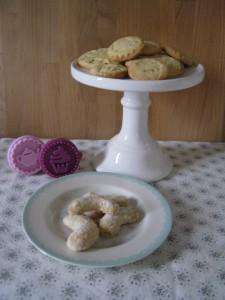 Plätzchen - Vanillekipferl - Stempelkekse - Keksstempel