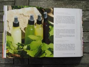 Blick ins Buch - Grüne Kosmetik - Bio-Pflege aus Küche und Garten - Kosmetik selbstgemacht