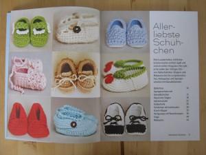 Buch Häkeln für kleine Füße - Häkelanleitungen für Babyschuhe