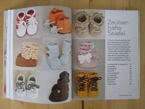 Häkeln für kleine Füße - Häkelanleitungen für Baby Stiefel
