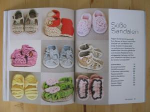 Häkeln für kleine Füße - Häkelanleitungen für Baby Sandalen
