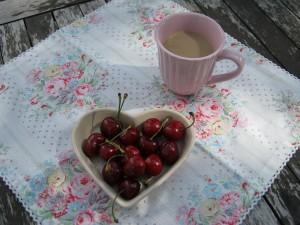Samstagskaffee auf dem Balkon
