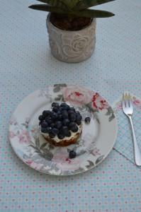 Blaubeerkuchen Blaubeertorte Blaubeertörtchen mit Rezept