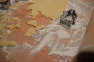 Kekse backen Halloween - Plätzchen