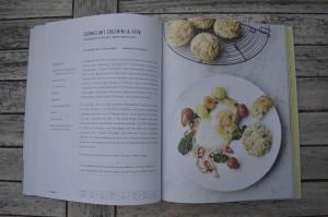 Buch - Jamie Oliver - Veggies - Scones mit Zucchini und Feta